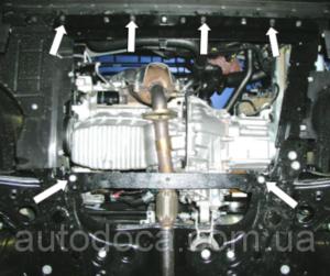 Защита двигателя Fiat Doblo 2 - фото №4