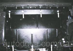 Защита двигателя Fiat Doblo 2 - фото №3