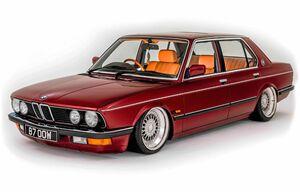 Защита двигателя BMW 5 E28 - фото №1