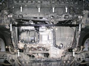 Защита двигателя Toyota Avensis 3 - фото №5