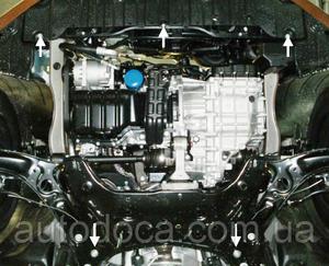 Защита двигателя Hyundai Elantra 5 MD - фото №5
