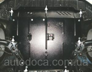 Защита двигателя Hyundai Elantra 5 MD - фото №4