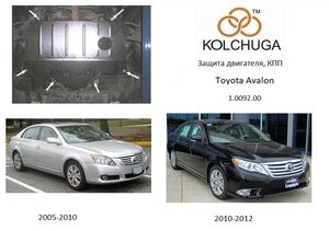 Захист двигуна Toyota Avalon - фото №1