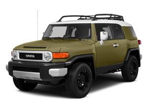 Защита двигателя Toyota FJCruiser - фото №1