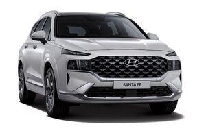 Защита двигателя Hyundai Santa Fe 5 - фото №3
