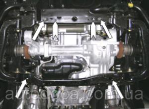 Защита двигателя Infiniti QX 56 - фото №3