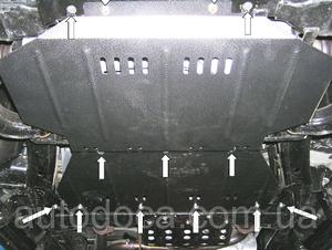 Защита двигателя Infiniti QX56 - фото №2