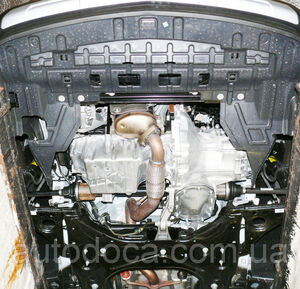 Захист двигуна Chevrolet Tracker - фото №4