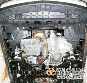 Защита двигателя Chevrolet Trax - фото №3