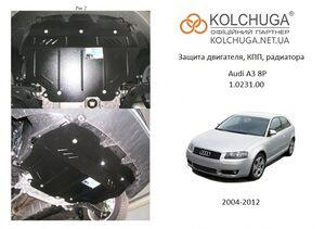 Защита двигателя Audi A3 8P - фото №1