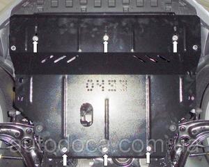 Захист двигуна Skoda Octavia A7 - фото №4