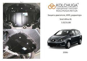 Захист двигуна Seat Altea XL - фото №1