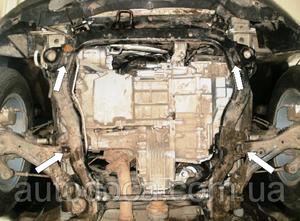 Защита двигателя Chevrolet Captiva - фото №9