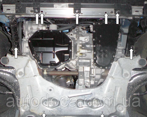 Захист двигуна Renault Megane 3 - фото №4