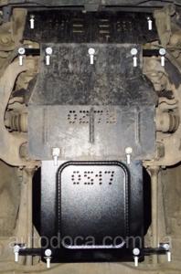 Защита двигателя Mitsubishi Pajero Sport 1 - фото №7