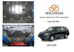 Захист двигуна Lexus RX 300 - фото №1