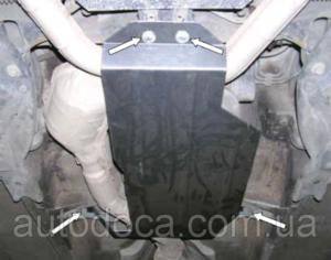 Защита двигателя Subaru Forester 1 SF - фото №14