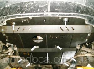 Защита двигателя Skoda Superb 1 - фото №3
