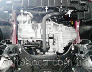 Захист двигуна Hyundai i-30 (2-е покоління) - фото №8