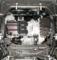 Защита двигателя Mitsubishi Outlander XL - Фото №8