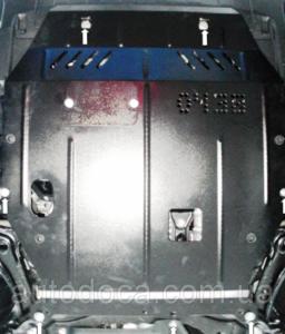 Захист двигуна Mitsubishi Outlander 2 XL - фото №6