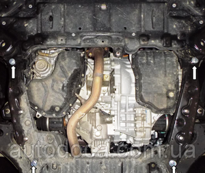 Захист двигуна Toyota Highlander 3 - фото №7
