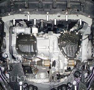 Защита двигателя Nissan Sentra - фото №4