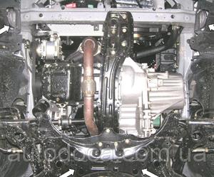 Защита двигателя Geely FC - фото №5