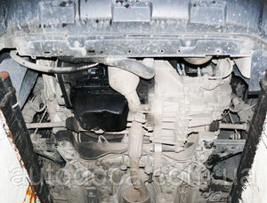 Защита двигателя Peugeot Bipper - фото №5