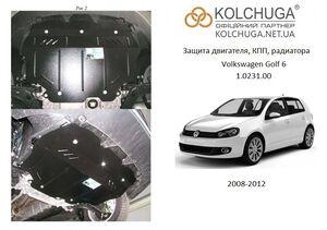 Защита двигателя Volkswagen Golf 6 - фото №1