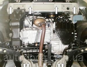 Защита двигателя Daewoo Lanos - фото №9