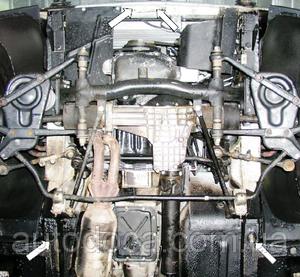Защита двигателя Нива (ВАЗ 2121) - фото №4