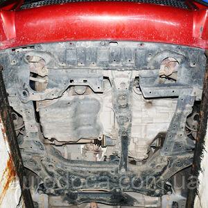 Защита двигателя Mitsubishi Lancer Х - фото №5
