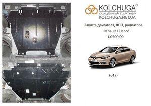 Защита двигателя Renault Fluence - фото №1