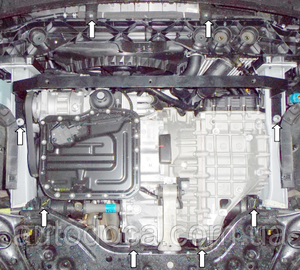Захист двигуна Kia Sportage 4 - фото №6