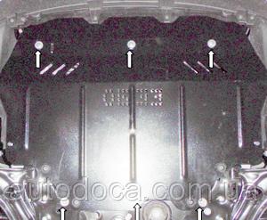 Защита двигателя Volkswagen Jetta 5 - фото №6