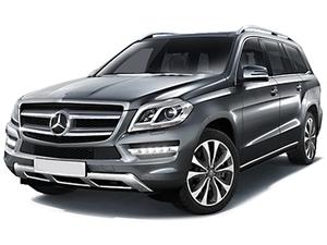 Защита двигателя Mercedes-Benz GL X166 - фото №1