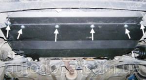 Защита двигателя Citroen C2 - фото №3