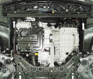 Захист двигуна Hyundai Santa Fe 3 - фото №11