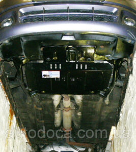 Защита двигателя Chery Kimo - фото №3