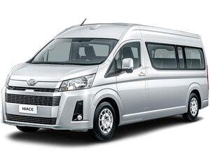 Защита двигателя Toyota Hiace - фото №1