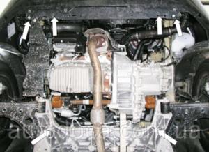 Защита двигателя Fiat Linea - фото №4