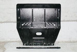 Защита двигателя Peugeot 407 - фото №4
