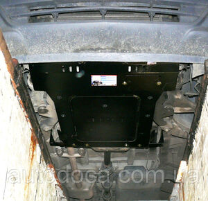 Защита двигателя Mercedes-Benz Viano W639 - фото №11