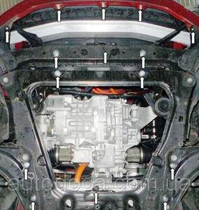Защита двигателя Nissan Leaf - фото №4