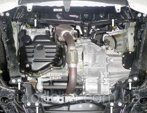 Защита двигателя Geely Emgrand X7 - фото №5