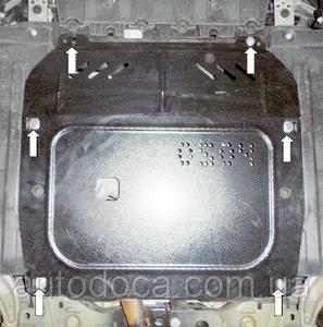 Защита двигателя Opel Zafira C Tourer - фото №3