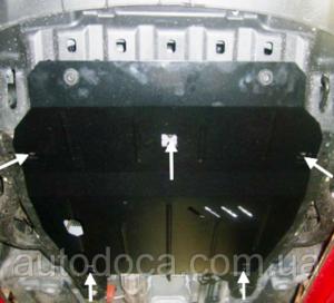 Защита двигателя Ssang Yong Korando - фото №8
