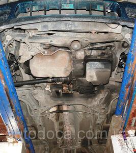 Защита двигателя Volkswagen Golf 3 - фото №8