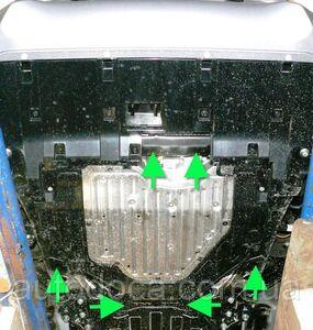 Защита двигателя Honda CR-V 4 рестайлинг - фото №6